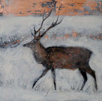 The ice filled air by Catherine Hyde
