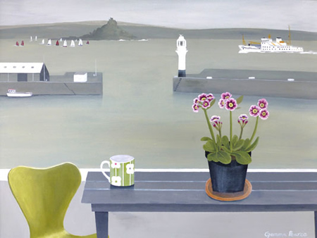 Series 7 chair and PZ harbour  by Gemma Pearce