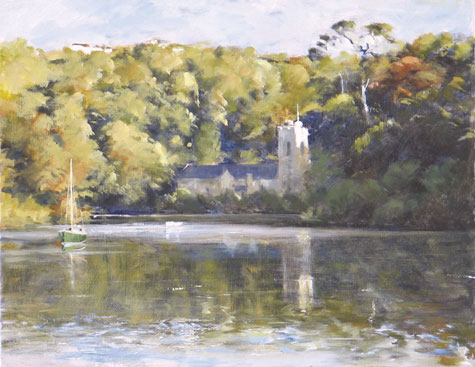St Just in Roseland by David Rust