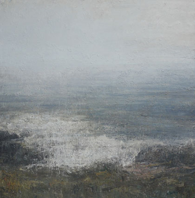 Misty Morning From Pendennis Point, Falmouth  by Benjamin Warner