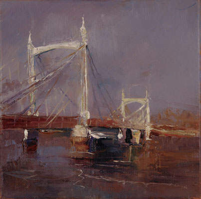 Albert Bridge by Rosemary Trestini