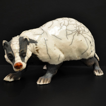 Bimbling badger by Brian Andrew