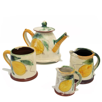Tiny jugs from £10 Mugs from  £ 15 Teapots from  £ 36 by Kevin Warren