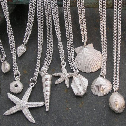 Charms on chains<br>From £50 by Fay Page