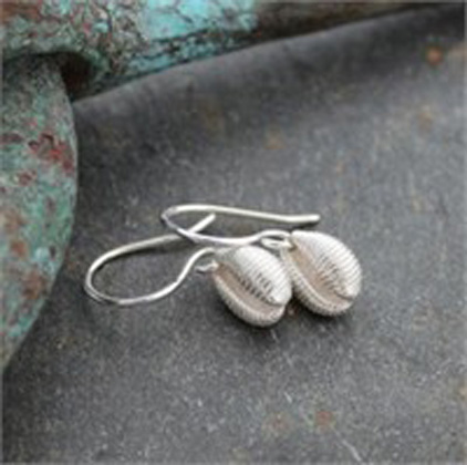 Cowrie drops<br>Earings from £62 by Fay Page