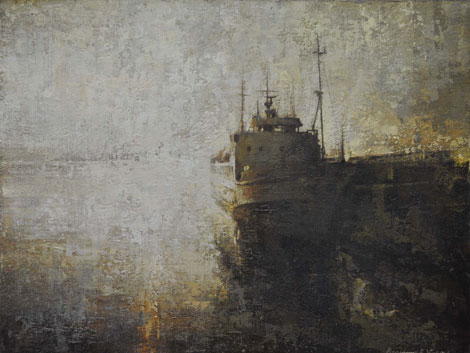 Sunrise, Scillonian III  by Benjamin Warner