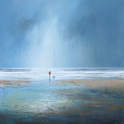A walk on the beach by Michael Sanders