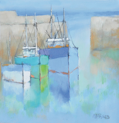 Harbour shapes by Michael Praed