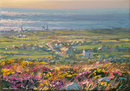 September Evening, above Trewellard by Mark Preston