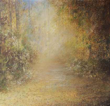 Autumn golds by Amanda Hoskin
