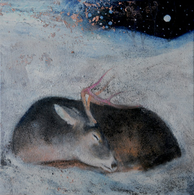 The sleeping hart of winter by Catherine Hyde