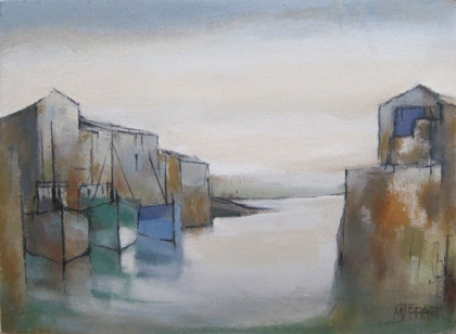 Harbour morning sky by Michael Praed