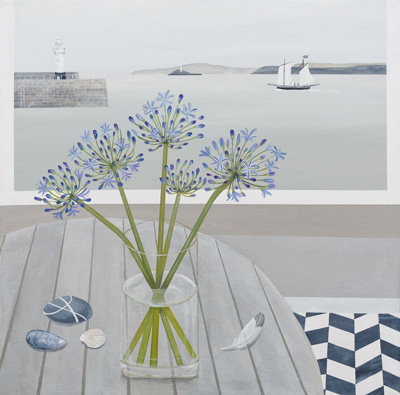 St Ives Agapanthus by Gemma Pearce
