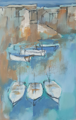 Harbour punts by Michael Praed