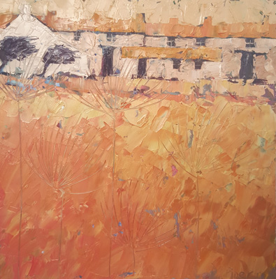 Ochre farm by John Piper