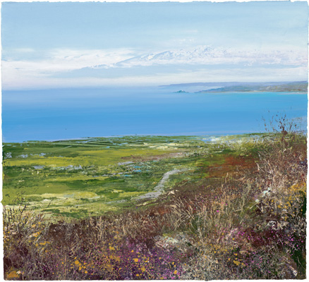 Beautiful day, Bells Hill Zennor by Amanda Hoskin