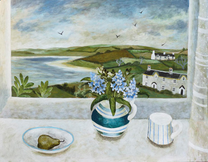 Sheltered harbour by Sarah Bowman