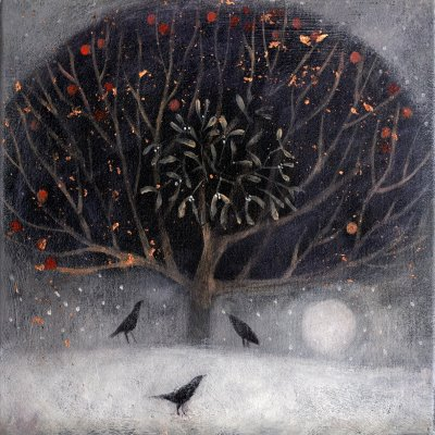 Against a silver sky by Catherine Hyde