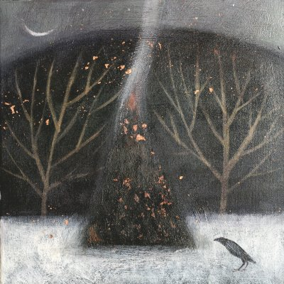 Autumn fires by Catherine Hyde