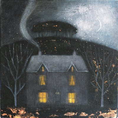 The nearly home trees by Catherine Hyde
