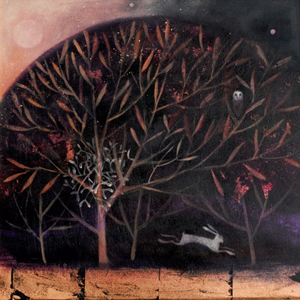 The russet night by Catherine Hyde