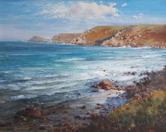 Sennen to Cape, early Spring by David Rust