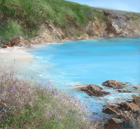 A quiet cove by Amanda Hoskin